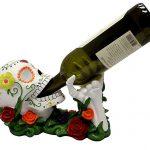 Dead Sugar Skull Wine Holder
