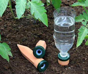 Easy-Fill Garden Watering Stake