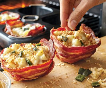 Bacon Bowl to make Delicious Edible Bowls