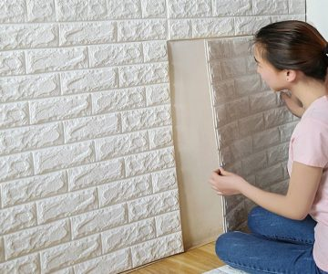 Foam 3D Brick Wall Decals