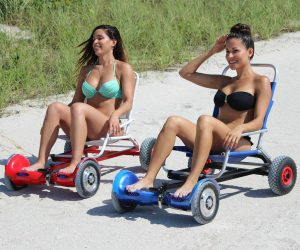 HoverSeat Hoverboard Seat Cart