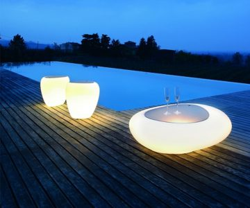 Cool Things To buy - Kos Coffee Table with Light