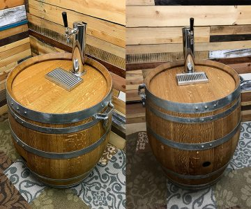 Mobile Wine Barrel Keg