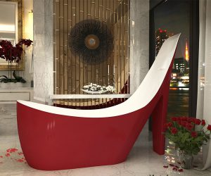 Pump Shoe Shape Bathtub