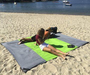 Sand Proof Outdoor Compact Beach Blanket
