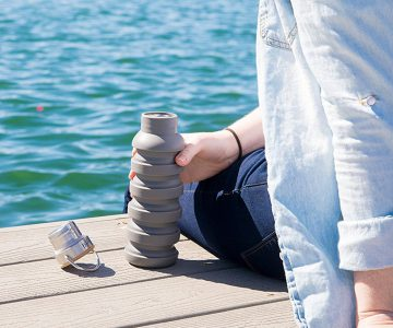 SkyyHi Collapsible Water Bottle