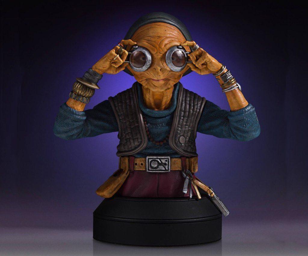Geeky - Star Wars Maz Kanata Deluxe Mini Bust
