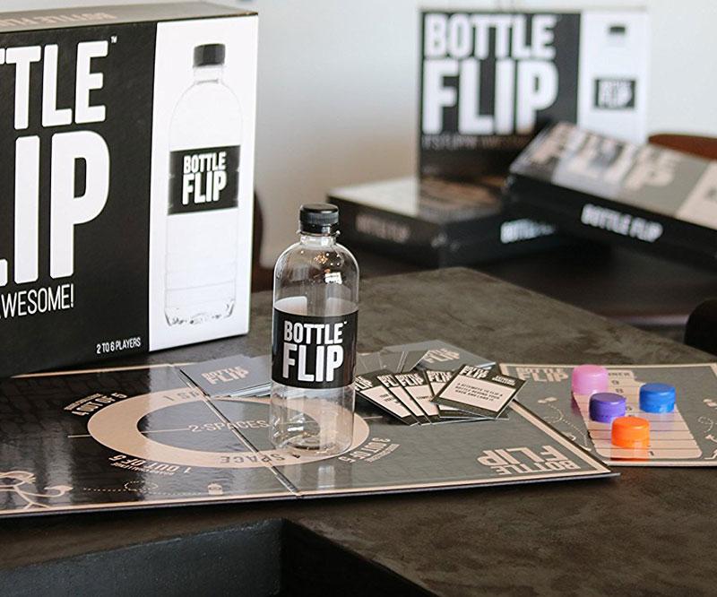 The Bottle Flip Board Game