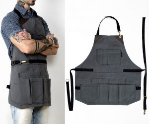 Tool Apron with Lots of Pockets