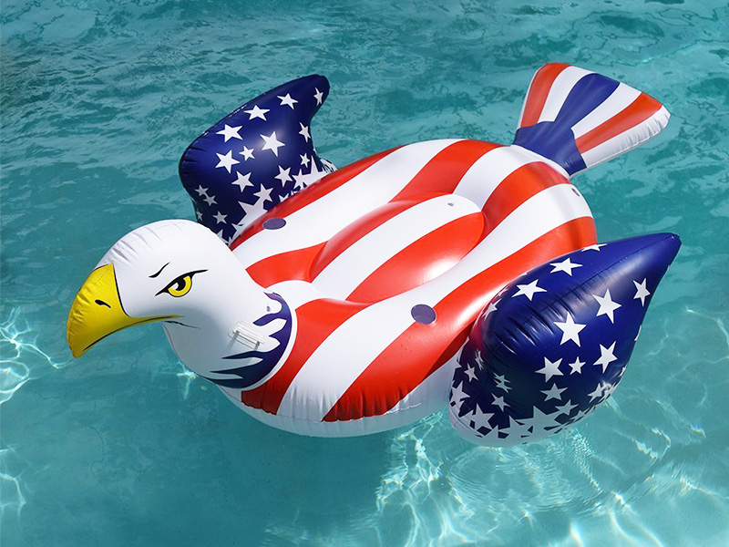 American Bald Eagle Inflatable Float