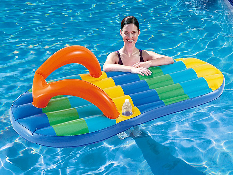 Beach Flip Flop Inflatable Pool Float