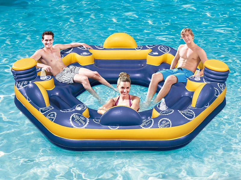 Corona 6-Person Giant Inflatable Island Raft