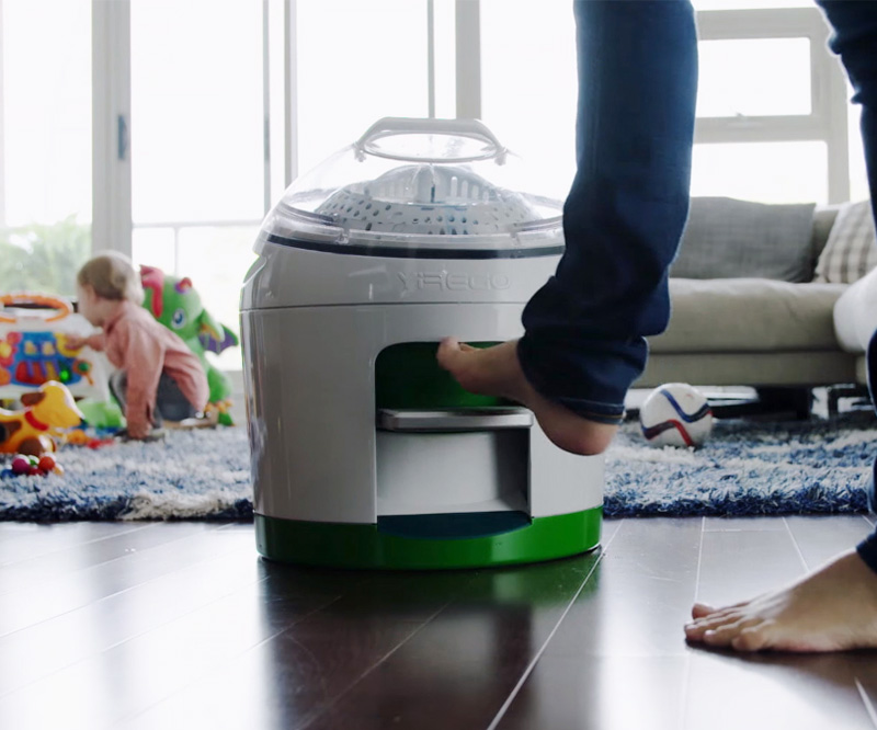 Drumi Foot Powered Washing Machine