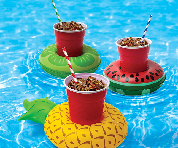 Inflatable Pool Party Drink Floats