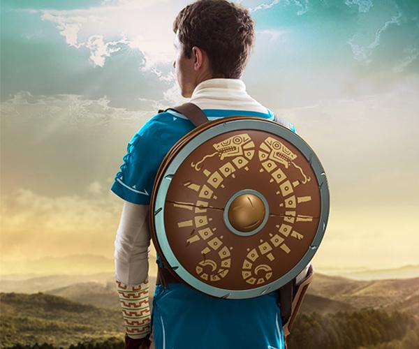 Legend of Zelda Breath of the Wild Shield Backpack