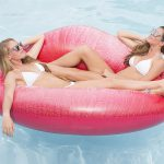 Luscious Lips Lounger Pool Float