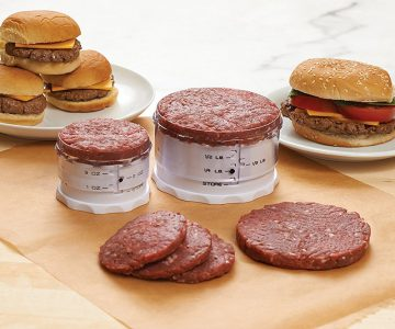 Measure & Adjust A Burger Press Set