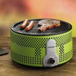 Portable Smokeless Charcoal Electric BBQ Grill