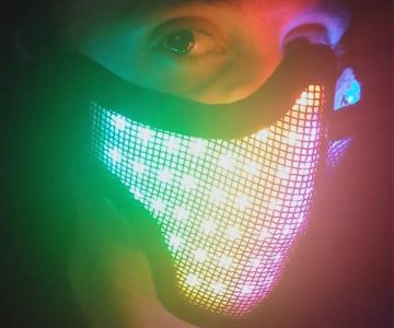 R4VE Rave LED Mask