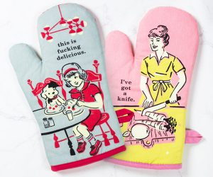 Retro Style Cheeky Mitts