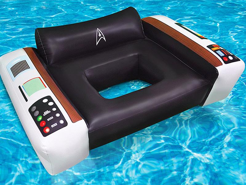 Star Trek Captains Chair Pool Float