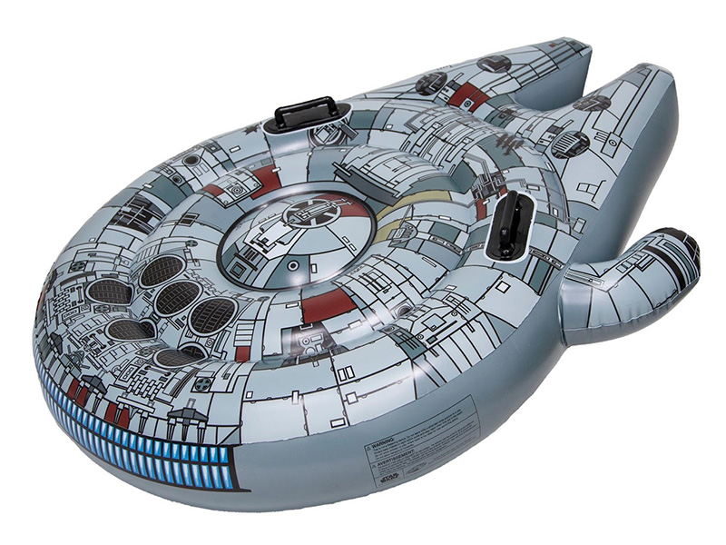 Star Wars Millennium Falcon Pool Float
