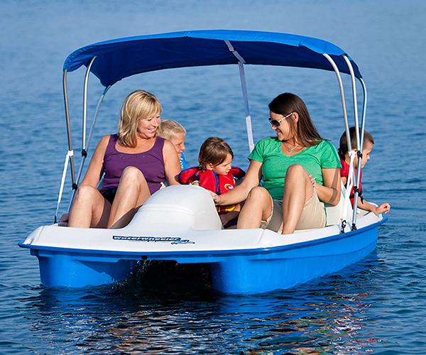 Sun Dolphin Electric 5 Person Pedal Boat