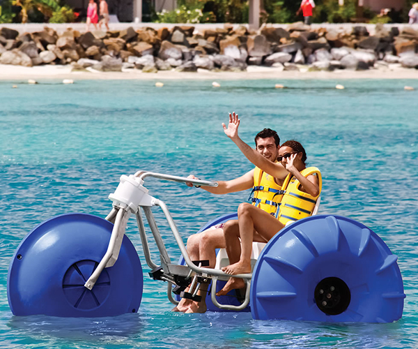 Tropical Aquatic Tricycle