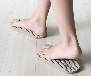 At first they may feel uncomfortable but rest assured that they are working to stimulate areas of your soles normally untouched.