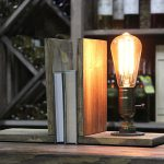 Edison Lamp Bookends