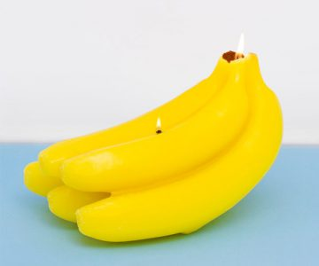 Scented Banana Candle