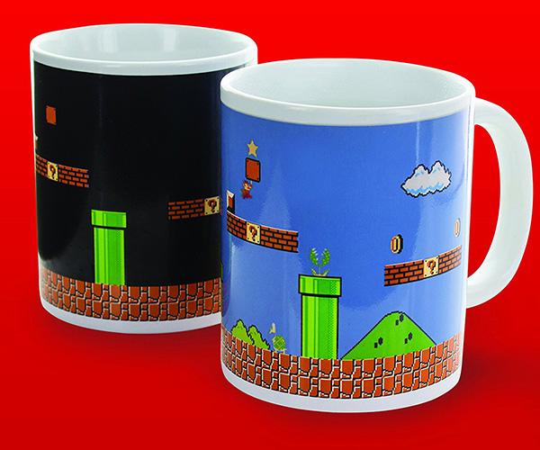 Super Mario Heat Changing Mug