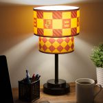 Harry Potter Table Lamp Hogwarts House Crest