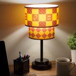 Harry Potter Table Lamp Hogwarts House Crest