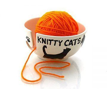 Knitty Cats Yarn Bowl