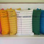Library Card Pillows