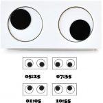 Funky The Eye Clock