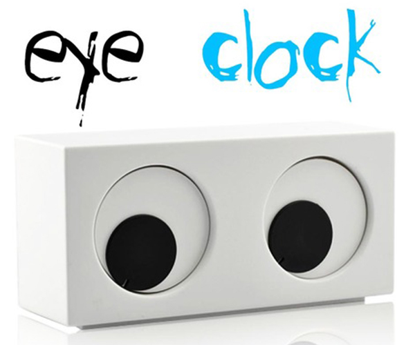 The Eye Clock - Funky Gifts