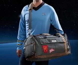 Star Trek The Original Series Universal Traveler Duffel Bag