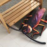 Giant Cockroach Plush Pillow