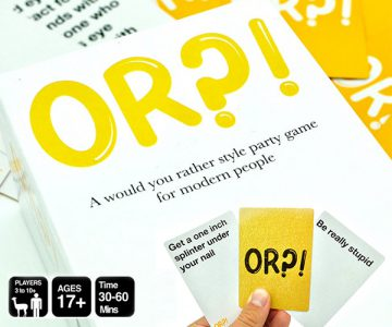 OR?! - A Modern 'Would You Rather' Style Party Game