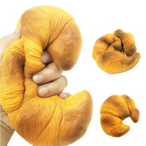 Jumbo Scented Croissant Squishy Toy
