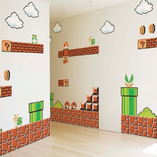 Nintendo Super Mario Bros Wall Graphics