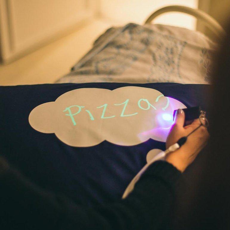 The Glow Doodle Pillowcase