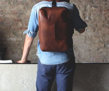 24two Leather Backpack