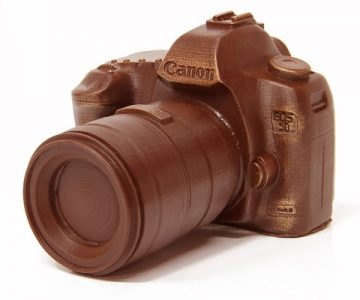Chocolate Canon Camera