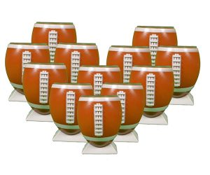 Football-Shaped Shot Glasses