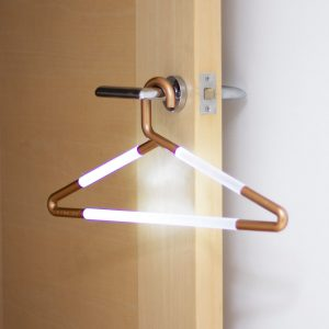 Hang Up Light - A Hanger That Glows