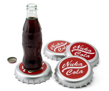 Cola Bottle Cap Coasters