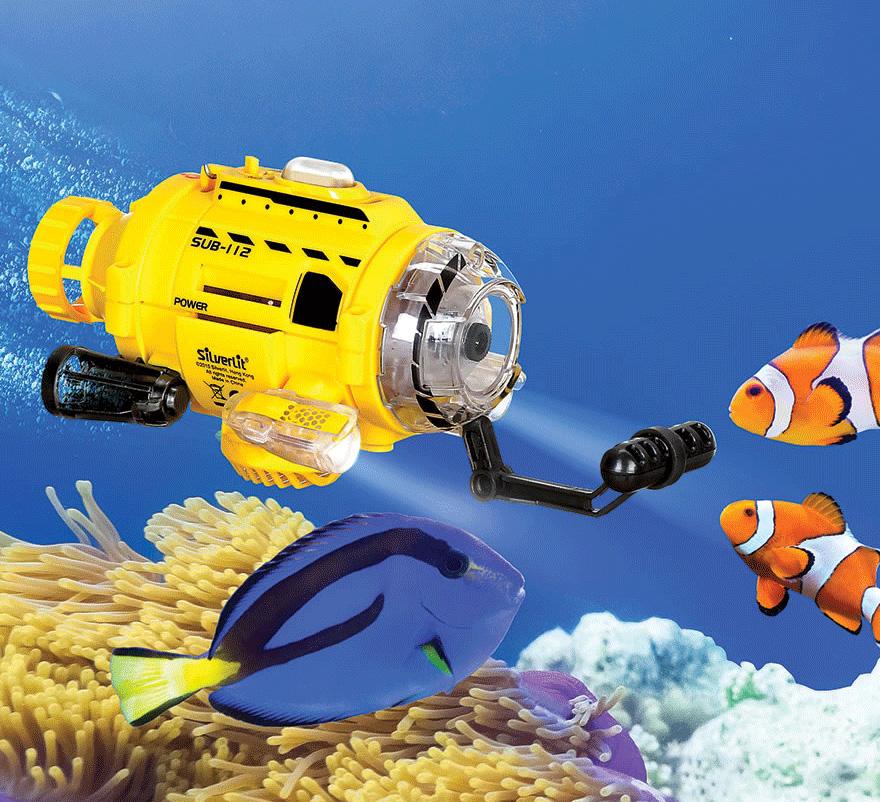 Fish Food Feeding Submarine